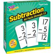 Trend Subtraction all facts through 12 Flash Cards (53202)