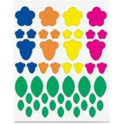 Hygloss Products Hygloss Floral Shapes Stickers (18401)