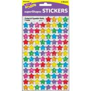 Trend Colorful Sparkle Stars superShapes Stickers (46405)