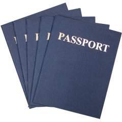 Hygloss Kids Craft Blank Passport Books (32610)