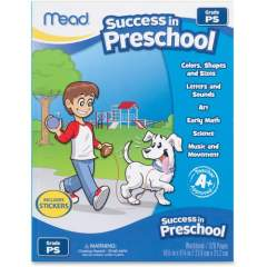 Mead Success In Preschool Workbook Printed Book (48108)