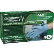DiversaMed Disposable Nitrile Powder Free Exam (8645L)