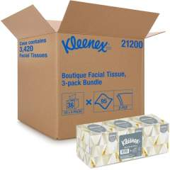 Kleenex Boutique Tissue Bundle (21200CT)
