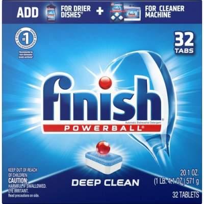 Reckitt Benckiser Finish Powerball Dishwasher Tabs (81049CT)