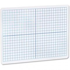 Flipside Grid Side/Plain Side Dry Erase Lap Board (11000)