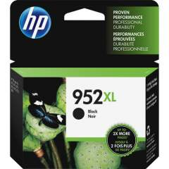 HP 952XL High Yield Black Original Ink Cartridge (F6U19AN)