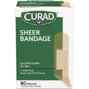 Medline Curad Sheer Bandage Strips (CUR02279RB)