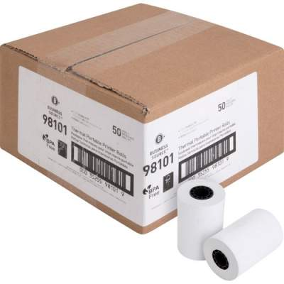 Business Source Recycled+ Receipt Paper (98101)