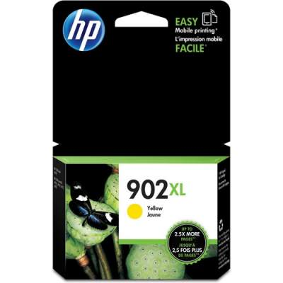 HP 902XL High Yield Yellow Original Ink Cartridge (T6M10AN)