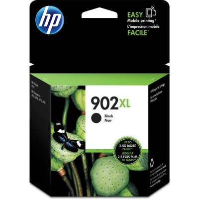 HP 902XL High Yield Black Original Ink Cartridge (T6M14AN)