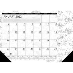 House of Doolittle Doodle Monthly Desk Pad (1876)