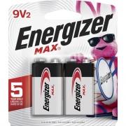 Eveready Max Alkaline 9-Volt Battery (522BP2CT)