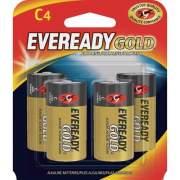 Eveready Gold Alkaline C Batteries (A93BP4CT)