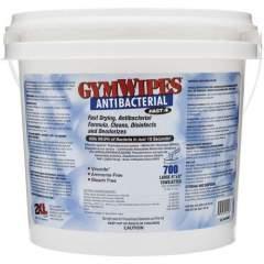 2XL GymWipes Dispensing Antibacterial Towelettes (L100)