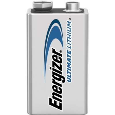 Energizer Ultimate Lithium 9V Batteries, 1 Pack (L522BP)