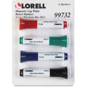 Lorell Magnetic Cap Whiteboard Markers (99732)