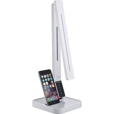 Lorell iPhone Station LED Desk Lamp (99771)