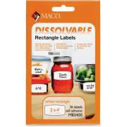 Chartpak Maco Dissolvable Labels (M83400)