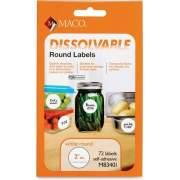 Chartpak Maco Dissolvable Labels (M83401)