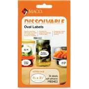 Chartpak Maco Dissolvable Labels (M83402)