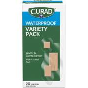 Curad Assorted Waterproof Transparent Bandages (CUR5108)