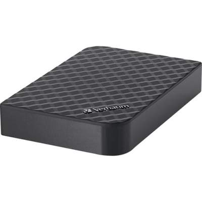 Verbatim 4TB Store 'n' Save Desktop Hard Drive, USB 3.0 - Diamond Black (99399)