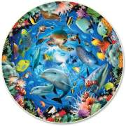 A Broader View Ocean View 500-piece Round Puzzle (383)