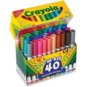 Crayola 40 Count Ultra-Clean Washable Broad Line Markers (587858)