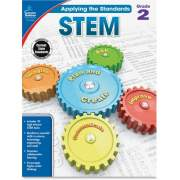 Carson-Dellosa Publishing Carson-Dellosa Grade 2 Applying the Standards STEM Workbook Printed Book (104853)