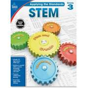 Carson-Dellosa Publishing Carson-Dellosa Grade 3 Applying the Standards STEM Workbook Printed Book (104854)
