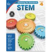 Carson-Dellosa Publishing Carson-Dellosa Grade 4 Applying the Standards STEM Workbook Printed Book (104855)