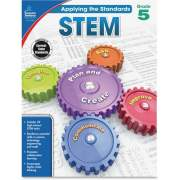 Carson-Dellosa Publishing Carson-Dellosa Grade 5 Applying the Standards STEM Workbook Printed Book (104856)