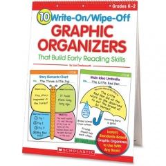 Scholastic Res. Grade K-2 Write/Wipe Reading Flip Chart (0439827736)