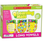 Scholastic Res. Grade K-2 Long Vowels Learning Mats (0545302153)
