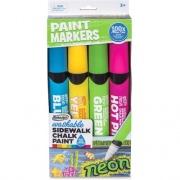 RoseArt Washable Sidewalk Chalk Paint Markers (DMP72)