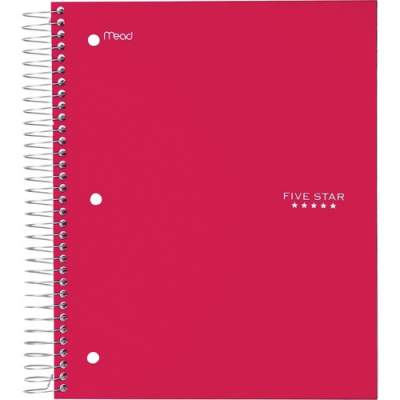 ACCO Five Star Wide Rule 5-subject Notebook (72041)