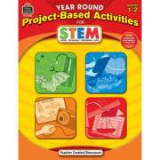 Teacher Created Resources Year Round Grades 1-2 Stem Project-Based Activities Book Printed Book (3025)