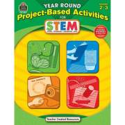 Teacher Created Resources Year Round Grades 3-4 Stem Project-Based Activities Book Printed Book (3027)