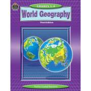 Teacher Created Resources Grade 5-8 World GeoGradeaphy WorkBook Printed Book (3799)