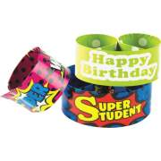 Teacher Created Resources Slap Bracelet Assortment (6154)