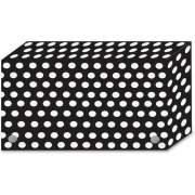 Ashley Productions Ashley B/W Dots Design Index Card Holder (90351)