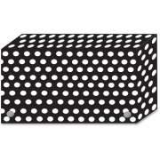 Ashley Productions Ashley Black/White Dots Design Index Card Holder (90451)
