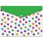 Ashley Productions Ashley Pawprints Design Snap Poly Folders (90604)