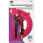 Charles Leonard CLI Swing Arm Safety Compass/Protractor (80965ST)