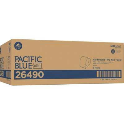 Georgia Pacific Pacific Blue Ultra 8Ó High-Capacity Recycled Paper Towel Roll by GP PRO (26490)