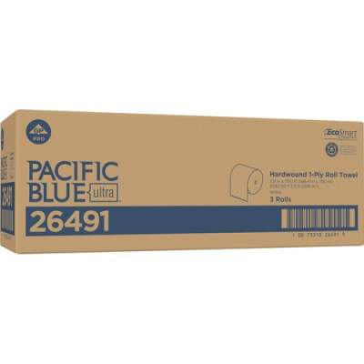 Georgia Pacific Pacific Blue Ultra 8Ó High-Capacity Recycled Paper Towel Roll by GP PRO (26491)