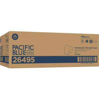 Georgia Pacific Pacific Blue Ultra 8Ó High-Capacity Recycled Paper Towel Roll by GP PRO (26495)