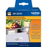 Brother DK3235 - Small Removable White Paper Labels