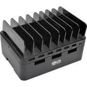 Tripp Lite 7-Port USB Charging Station Hub Quick Charge 3.0, USB-C, Storage (U280-007-CQC-ST)