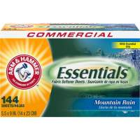 Church & Dwight Arm & Hammer Essentials Fabric Softener Sheets (3320000102)